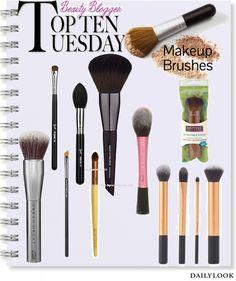 Top 10 make up kwasten