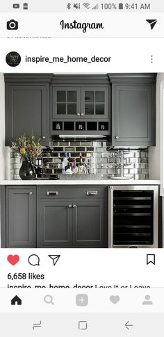 Mirror Backsplash Projects To Try Home Decor Homemade House Design