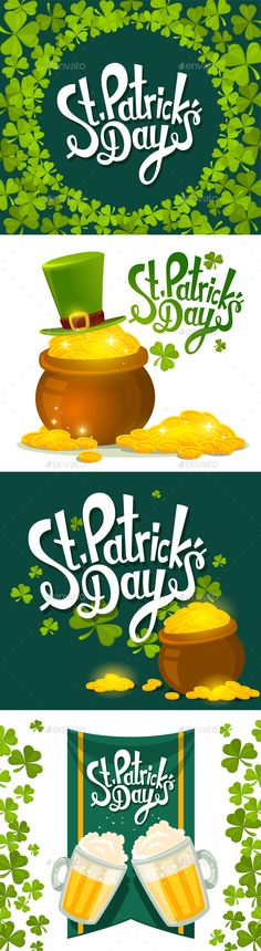 St. Patrick's Day Illustrations - Miscellaneous Seasons/Holidays
