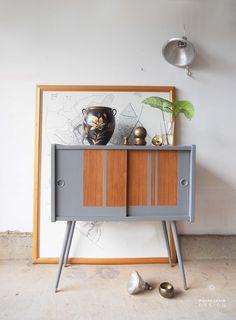 record cabinet by Martha Leone Design