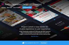 Sabías que Adobe lanza la primera vista previa pública de Experience Design CC