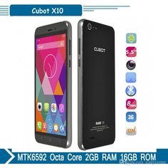 Original CUBOT X10 5.5inch MTK6592A Octa Core Android 4.4 Cell Phone 2GB 16GB IP65 Waterproof 16.0MP Unlocekd Smartphone from Easycome,$157.33