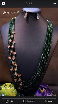 Emerald Jewelry, Diamond Jewellery, Pearl Jewelry, Indian Jewelry, Jewelery, Jewelry Necklaces, Hyderabadi Jewelry, Beaded Jewelry Designs, Inspirational Jewelry