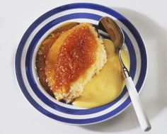 A feather light fruity Marmalade Steamed Sponge Pudding Recipe filled with childhood memories. Served hot and of course, with lashings of custard.