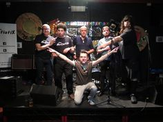 The AutistiX -  Great band good fun and LD friendly usually acccesible gigs, check first  (3 band members have Learning disabilities) - see you there :)