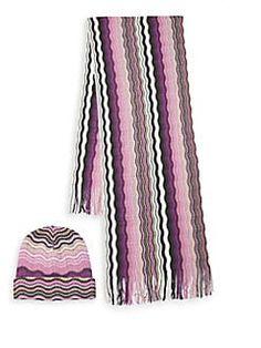 fa1acbd879241e Missoni Viscose and Cotton Striped Long Scarf   Color   Missoni ...