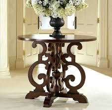 Round Hallway Table Google Search Round Foyer Table Round Accent Table Center Table