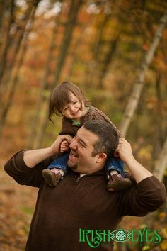 Father Daughter Portrait.  Photo by Irish Eyes Photography