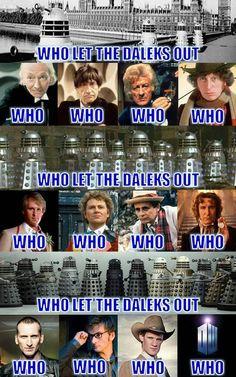 I adore Daleks