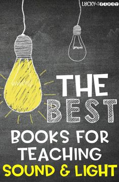 The BEST Books for Teaching NGSS Sound & Light!