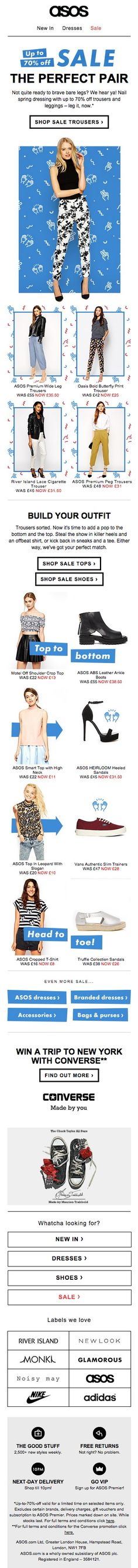 offer email deal discount ASOS