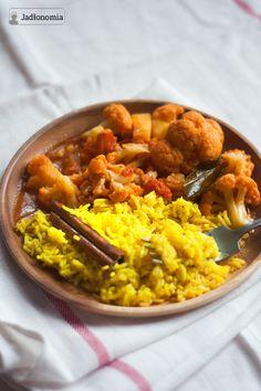 jadłonomia • roślinne przepisy: Na przednówku, czyli ulubione curry z kalafiora