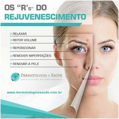 "Os ""Rs"" do rejuvenescimento"