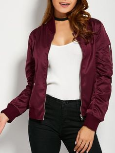 SHARE & Get it FREE | Pockets Bomber JacketFor Fashion Lovers only:80,000+ Items • New Arrivals Daily Join Zaful: Get YOUR $50 NOW!