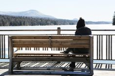 📸 Person on Gray Jacket on Brown Wooden Bench Daytime Photo - download photo at Avopix.com for free    👉 https://avopix.com/photo/45688-person-on-gray-jacket-on-brown-wooden-bench-daytime-photo    #railing #sky #bench #travel #architecture #avopix #free #photos #public #domain