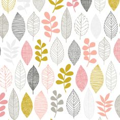 134105 Leaf Sampler from First Light by Eloise Renouf for Cloud9 Fabrics