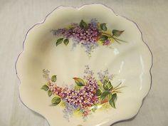 Royal Albert Bone China England Blossom Time Series LILAC Shell Shaped Dish in Royal Albert | eBay