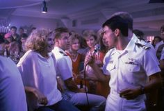Top Gun,  you never close your eyes anymore when I kiss your lips.......