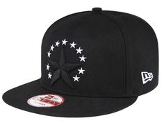 ab04246276b Black Stars 9Fifty Snapback Cap by NEW ERA Black Snapback