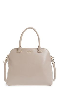 This kate spade new york 'emerson place' satchel is a must! Simply can't get over this 'Mousse Frosting' color. It's perfect for Winter.
