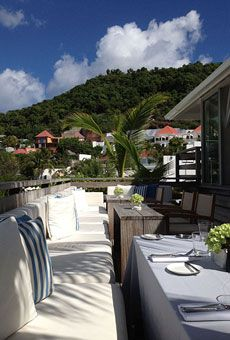 St. Barts beautiful Hotel Isle de France! A Honeymooners' Guide to Cruising the Caribbean