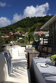 St. Barts beautiful Hotel Isle de France!