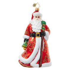 Christopher Radko Ornaments | Radko Santa Claus Luminary Lovely 1018669