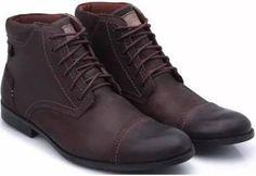 sapato masculino cano medio Flatform, Combat Boots, Shoes, Fashion, Luxury Shoes, Men Shoes, Wedges, High Heels, Canoe