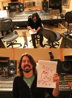 Dave Grohl. What else needs to be said...