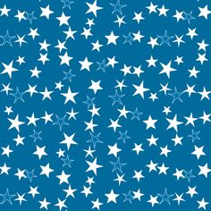 Simple Stars 12 custom fabric by animotaxis for sale on Spoonflower Fireworks Background, Wallpaper Backgrounds, Wallpapers, Star Wars, Falling Stars, Custom Fabric, Spoonflower, Craft Projects, Soap