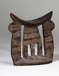 Africa | Stool from the Kambata people of Ethiopia | Wood