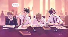 studying Marauders Remus.