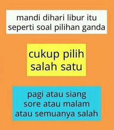 37 Trendy Ideas For Quotes Indonesia Lucu Humor Haha Quotes Lucu, Jokes Quotes, New Quotes, Quotes For Him, Faith Quotes, Life Quotes, Inspirational Quotes, Memes Humor, Qoutes