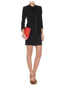 Acne Short Jersey Dress $225