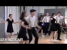Swing Dancing - Lindy Hop Team Performance
