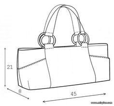 сумка safari, выкройка сумки, сумки своими руками, шитье, рукоделие, готовые выкройки, бесплатные выкройки