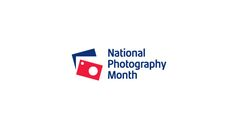 National Photography Month - Simple, Sleek Logo