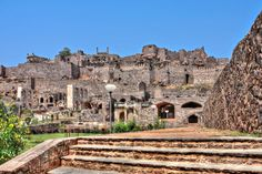The #Golkonda #Fort in #Hyderabad used to have a #vault in which the #world #famous #Kohinoor #diamond was once stored. #goExplore: http://goo.gl/jM0Cek