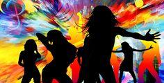 Danse, Disco, Mouvement, La Musique, Couleur