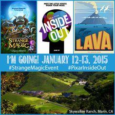 Strange Magic Event   Pixar Inside Out