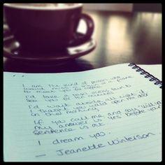 Love Jeanette Winterson! ~ETS