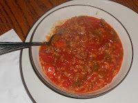 Hezzi-D's Books and Cooks: Stuffed Pepper Soup