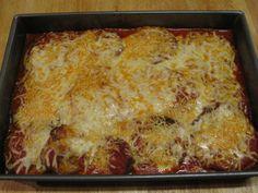 Eggplant Parmesan-Making for Christmas dinner