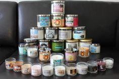 Bath and Body Works Candle Collection