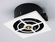 style NuTone Ceiling/Wall Fan solves your exhaust issues - Retro Renovation Bathroom Exhaust Fan, Kitchen Exhaust Fan, Kitchen Ventilation, Retro Renovation, Kitchen Stove, Vintage Style, Retro Style, Ceiling, Wall