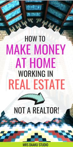 to be a real estate virtual assistant, work from home and make money online . - how to earn money -How to be a real estate virtual assistant, work from home and make money online . - how to earn money - Earn Money From Home, Earn Money Online, Online Jobs, Way To Make Money, Online Careers, Quick Money, Online Income, Money Fast, Online Work From Home