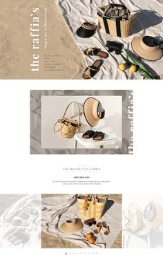Modern website and branding. Website Layout, Web Layout, Layout Design, Email Layout, Website Design Inspiration, Graphic Design Inspiration, Email Newsletter Design, Email Design, Email Newsletters