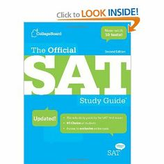 #7: The Official SAT Study Guide, 2nd edition.