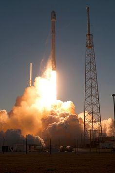 NOAA's DSCOVR Spacecraft: Liftoff on SpaceX Falcon 9 Rocket | V4 | Feb. 11, 2015: NOAA's Deep Space Climate Observatory spacecraft, or DSCOVR, is boosted into space aboard the SpaceX Falcon 9 rocket.