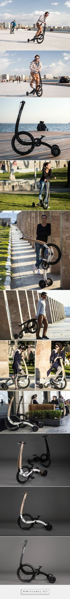 halfbike II redesigns bicycle to make a more intuitive, full body ride - created via http://pinthemall.net